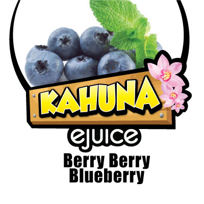Kahuna Berry Berry Blueberry eJuice