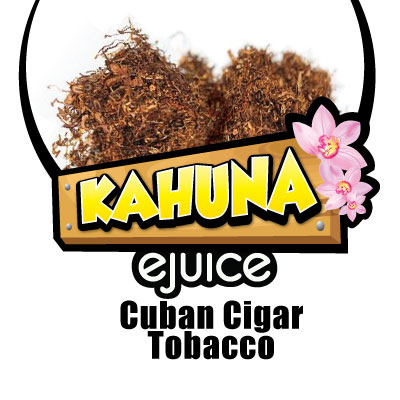 Kahuna Cuban Cigar Tobacco VG eJuice