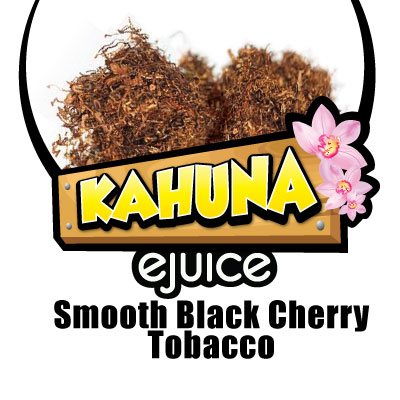 Smooth Black Cherry Tobacco VG eJuice