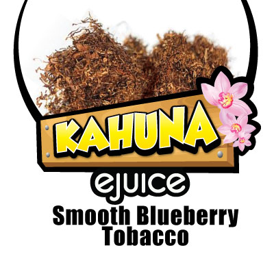Smooth Blueberry Tobacco VG eJuice