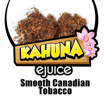 Smooth Canadian Tobacco VG eJuice
