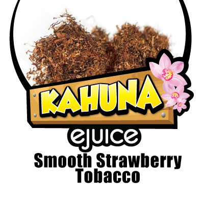 Smooth Strawberry Tobacco VG eJuice