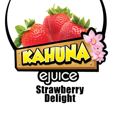Kahuna Strawberry Delight VG eJuice